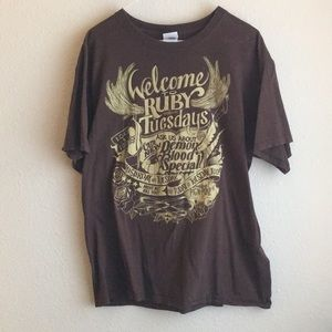 Brown Supernatural Ruby Tuesday's Tee - Size L